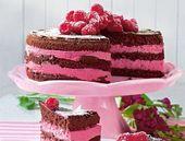 Himbeer-Joghurt-Schokoladenkuchen – bildderfrau.de – Rezepte