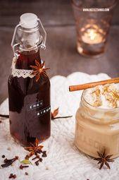 Chai Sirup Rezept: DIY Chai Sirup selber machen