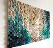 Birth of a star 3D wood wall art