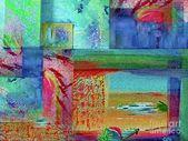 Harmonie 2001 Kunstdruck von Corinne Carroll