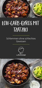 Low-Carb-Gyros mit Tzatziki