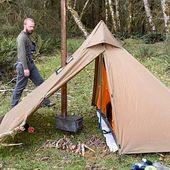Minipeak XL Pyramid (3P) Wood Stove Hunting Tent