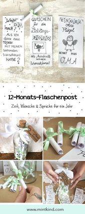 DIY Geschenkideen für deine Lieblingsmenschen – mintkind – Blog