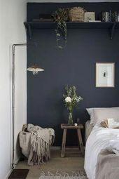10+ Beautifully Bedroom Ideas #BedroomIdeas bedroom paint ideas, orange bedroom … – Eclectic bedrooms