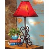Tucson Iron Table Lamp In 2020 Table Lamp Rustic Lamps Lamp