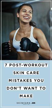 Haben Sie sich schuldig gemacht, einen dieser Hautpflegefehler nach dem Training begangen zu haben? Finden … – Beauty Tips