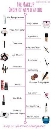 Makeup Order of Application #naturalmakeuptutorial…
