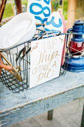 Gilded Nautical Engagement Party Inspiration  – Nautical Wedding Ideas