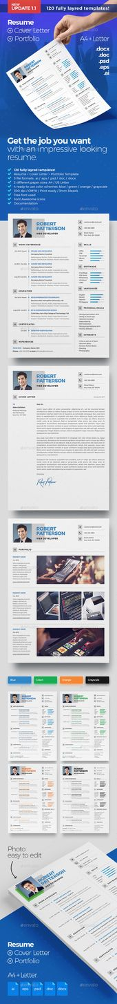 Resume - #Resumes Stationery Download here    graphicriver - looking for resume