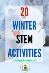 THE ULTIMATE LIST OF WINTER STEM ACTIVITIES FOR KIDS
