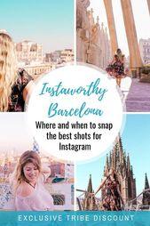 Die instagrammable Plätze in Barcelona