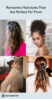 These hairstyles are perfect for prom #hair #hairstyle #prom #updo #curly #a