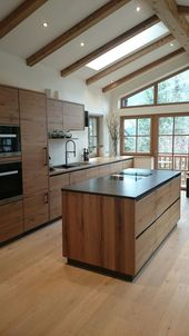 wood kitchen #kitchen
