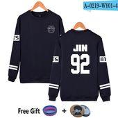 BTS Hoodies Sweatshirt Bangtan Boys JIMIN V Kpop Suga Korean Streetwear Harajuku Fashion Style Tracksuit Loose Hoodie Sweatshirt