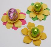 Crafting tip of the week # 9 – table decoration Easter   – DIY Stanzen – #crafti…