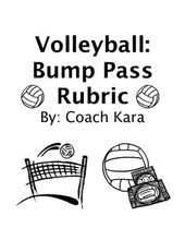 Volleyball – Bump Pass Rubric (GPE & APE)