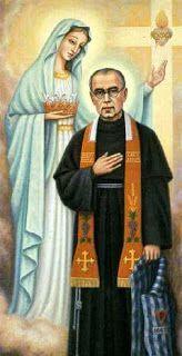 Ángeles y Santos: San Maximiliano Kolbe y la consagración a María ...