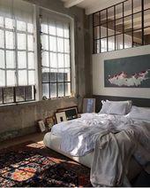 Pinterest @ fadedwhite – #fadedwhite #loft #Pinter…