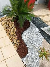 Kühle 71 schöne Kies-Garten-Design-Ideen für Nebenhof und Hinterhof Quelle: …. – DIY Garden Deco