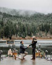 Shock & romantic proposal