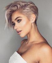 Moderne Frisuren für Frauen Superb 10 Trendy sehr kurze Frisuren für Frauen Coole kurze …