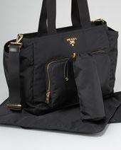 901c37fea47f Prada - Nylon Baby Bag - Saks.com   My Favorite Products   Bags, Diper bags,  Nylon bag
