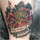 Freddy Krueger inspirierte Tattoo heute von lucian_b bei loadedfortyfourtattoo #Tatto …
