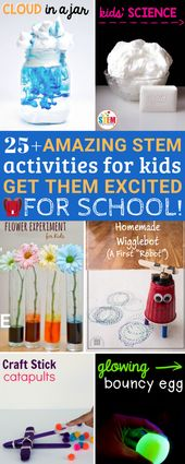 25+ Amazing STEM Activities for Kids to Get Them Excited for the School Year – The Thrifty Kiwi
