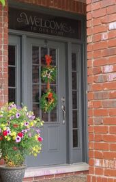 27 trendy exterior door brick house – House ideas