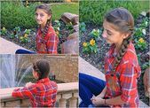 Braided hairstyles for children with instructions – perfect for school and children ….., #instructions …