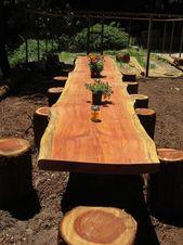 19 coole DIY-Ideen, um Protokolle und Protokolle kreativ in Ihrem Garten zu verwenden   – Dorfplatz