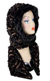 6821db4ac Grace Cloche Style Hat - Luxury Faux Fur in Espresso Bean   Shop ...