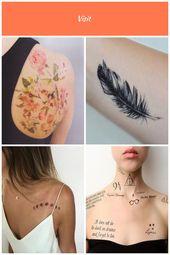 DIY Wallflower Temporary Tattoo –  – #DIY #Tattoo #Temporary #Wallflower diy tat…