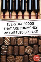 Alltagslebensmittel, die häufig falsch oder falsch beschriftet sind   – Food & Lifestyle