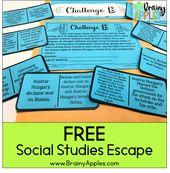 Utilizing Social Research Escape Rooms – Brainy Apples