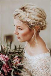 Die besten 25 + Braut Frisuren geflochten Ideen au…