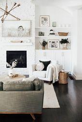Wie erstelle ich ein gemütliches Wohnzimmer – Amy E Peters BLOG #homedecor #livingroom #coz …   – Living room