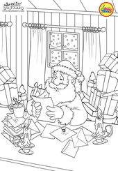 Christmas Coloring Pages – Božić bojanke za djec…