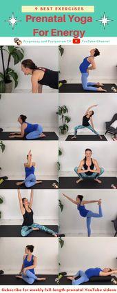 Prenatal Yoga For Energy