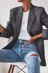 17 tenues en denim simples que vous pouvez copier maintenant