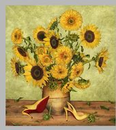 SS14 Louboutin Look Books Van Gogh _ Fotógrafo Peter Lippman   – Chloe