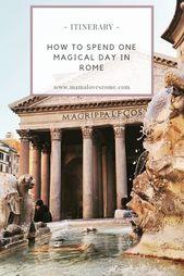 Wie weit sind die wichtigsten Sehenswürdigkeiten Roms voneinander entfernt? – Mama liebt Rom