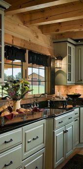 76+ Rural Kitchen Cabinet Makeover Ideas