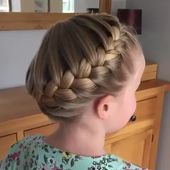 The French Crown Braid tutorial 👸 👑