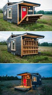 DRAWBRIDGE TINY HOUSE PORCH DESIGN IDEAS