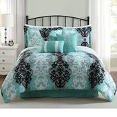 Ashtabula 7 Pieces Reversible Comforter Set
