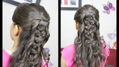 Geflecht mit Knoten - Geflecht und Knoten Einfache und schnelle Frisuren Frisuren ...