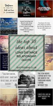 The top 30 Ideas About Long Distance Relationship Quote