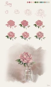 Eine andere Blume, die in einem früheren Tutorial gefragt wurde … Ich liebe es, diese Tutorials zu …,  #andere #blume #einem #fruheren #gefragt