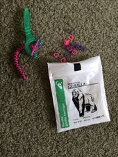 Make A Rubber Band Bracelet Using Household Items Such As Braces